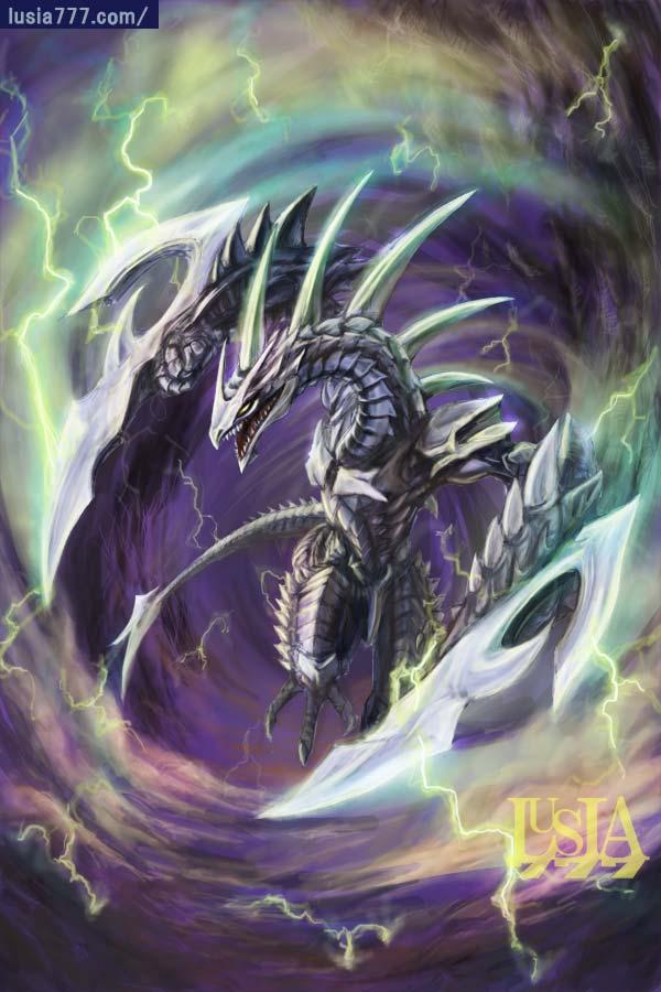 スラッシュドラゴン・ドラゴンのイラスト