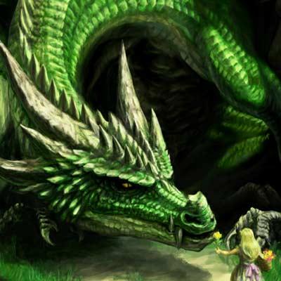 ドラゴンと女の子