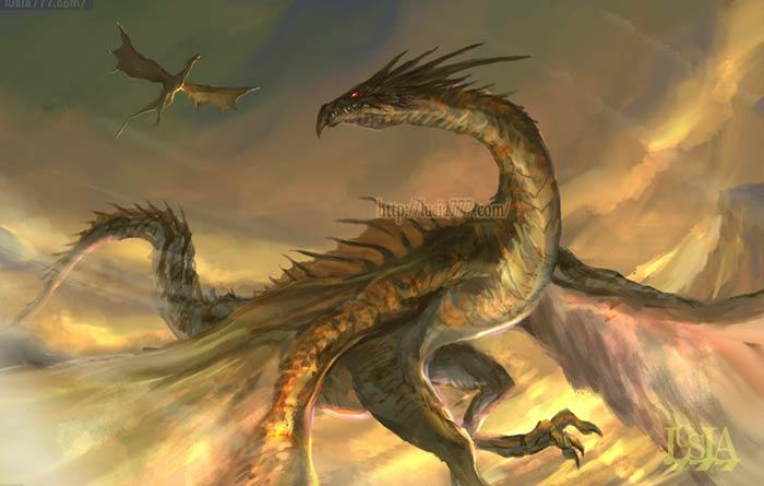 モンスター ドラゴン ワイバーンのイラスト
